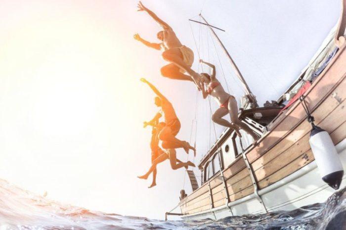 Teambuilding na barki po ribje