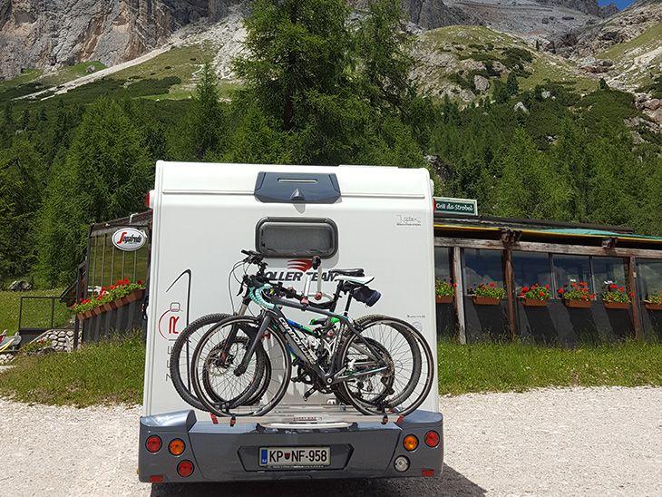 Avtodom najem: Nosilec koles vključen