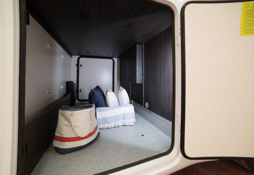 Dodatni kakovostni in trši/nedrseči premaz v prtljažnem delu